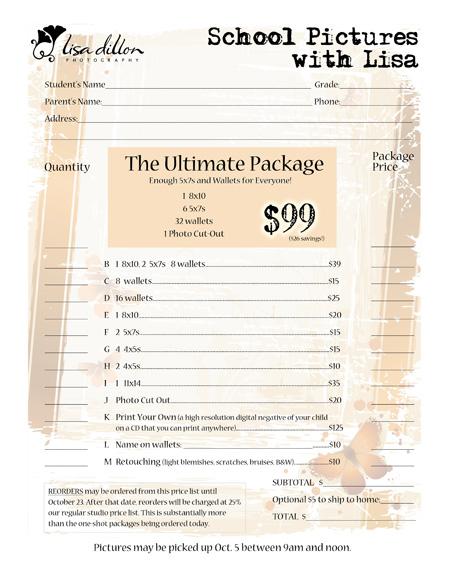 School Pix Order Form WEB
